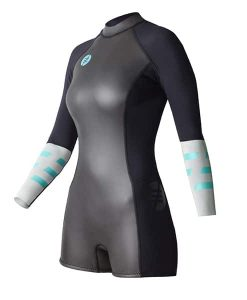 Ride Engine Women's Almar shorty long sleeve back zip 2/1