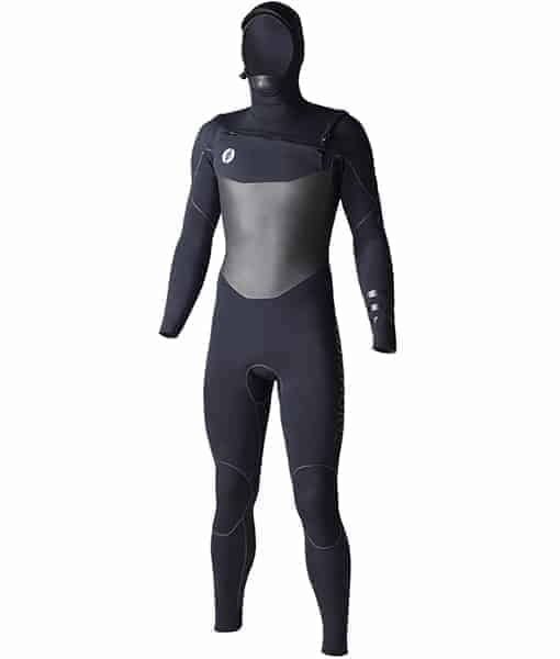 RIDE ENGINE APOC 5/4/3 HOODED FULL SUIT, FRONT ZIP