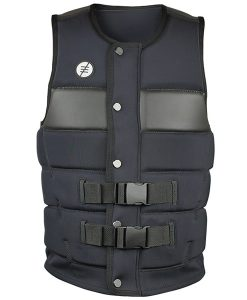 Shredtown Wake Vest Black