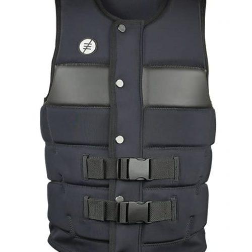 Shredtown Wake Vest Black