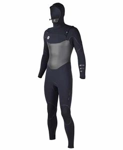 Ride Engine Apoc 4/3/2 hooded full suit, front zip