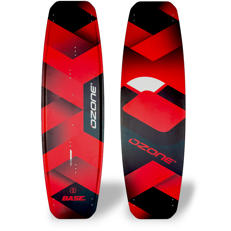 Ozone Base BASE V1 RED Kitesurf Board Kiteboard