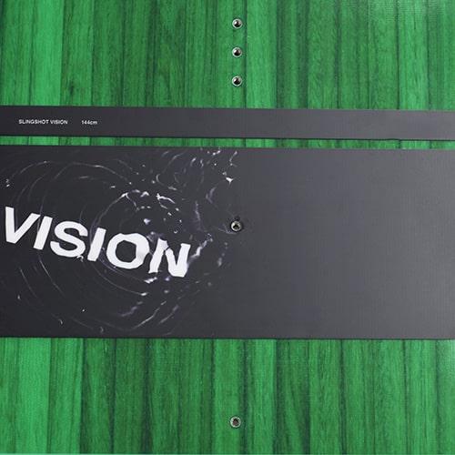 Slingshot Vision Kiteboard Twin Tip, Kitesurfing 2020