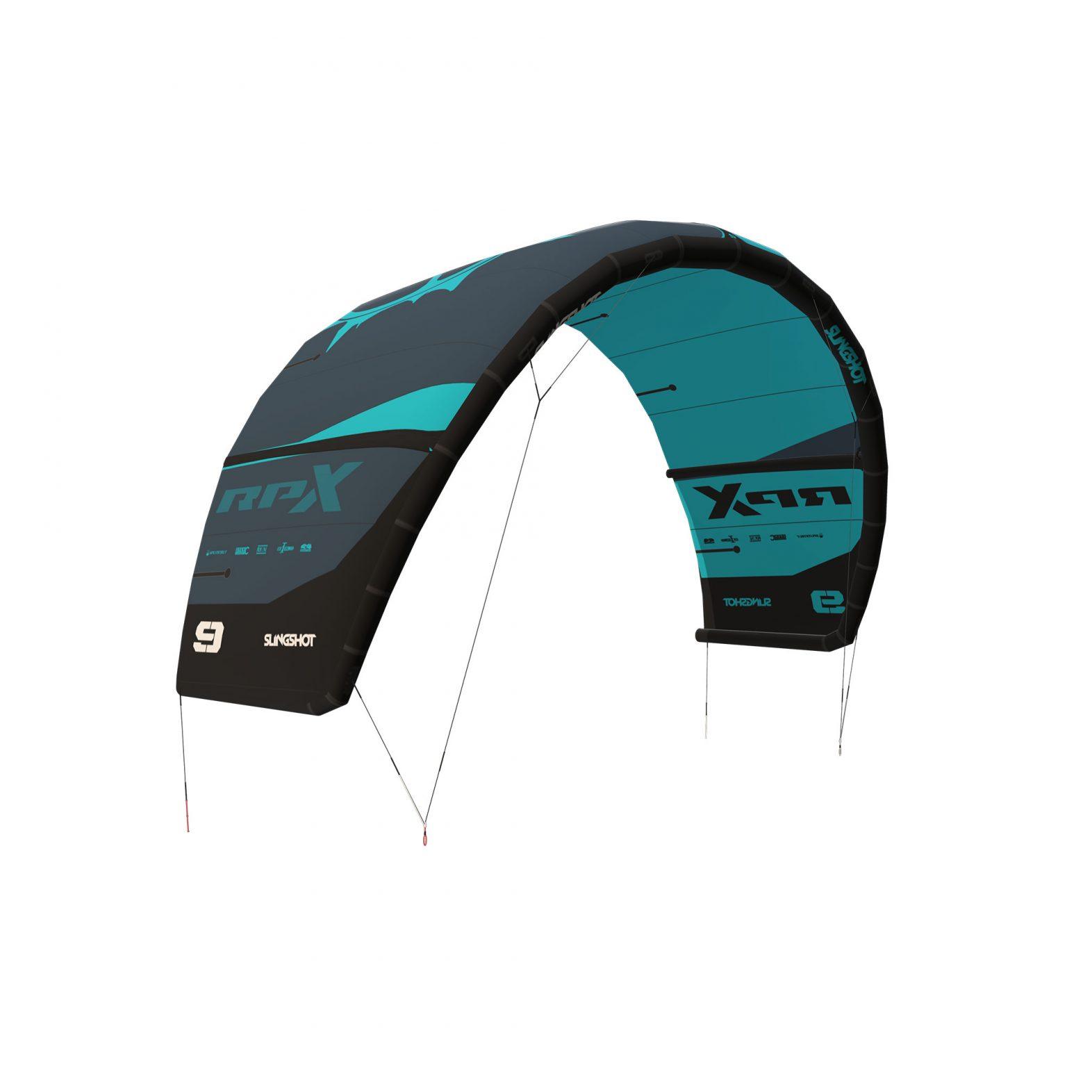 Slingshot RPX V1 Blue- Slingshot RPX Kitesurfing Kite