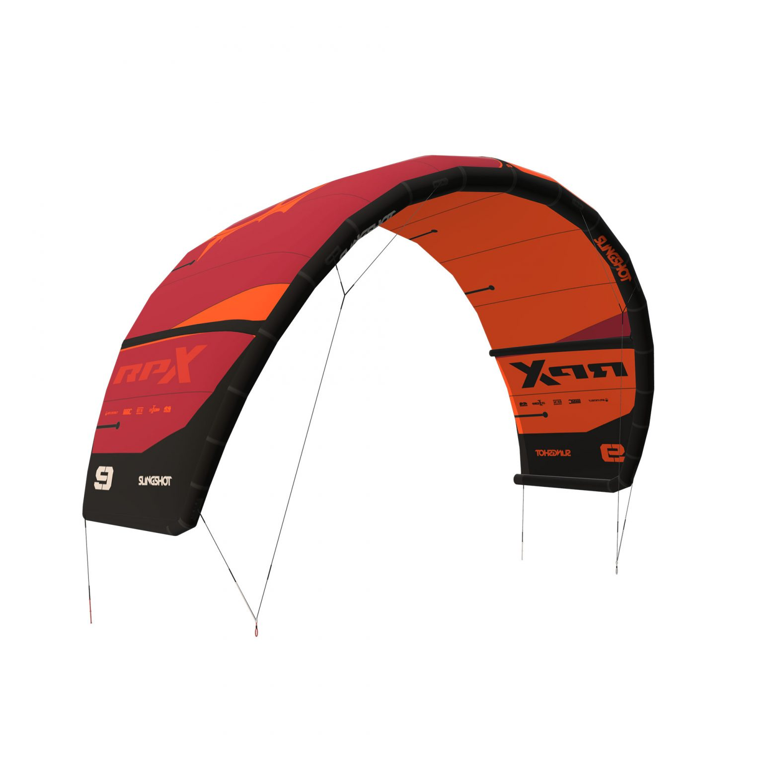 Slingshot RPX V1 Orange- Slingshot RPX Kitesurfing Kite